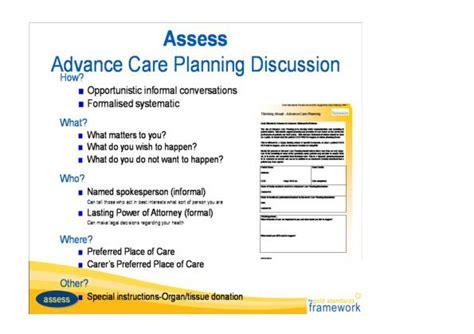 Princes Park Health Centre  Advance Care Planning