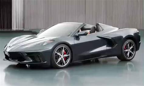 Top Already Dropped On 2020 Chevrolet Corvette Stingray