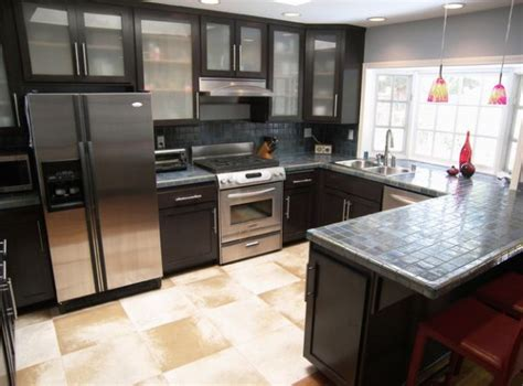 modern kitchen cabinets black 28 kitchen cabinet ideas with glass doors for a sparkling Modern Kitchen Cabinets Black