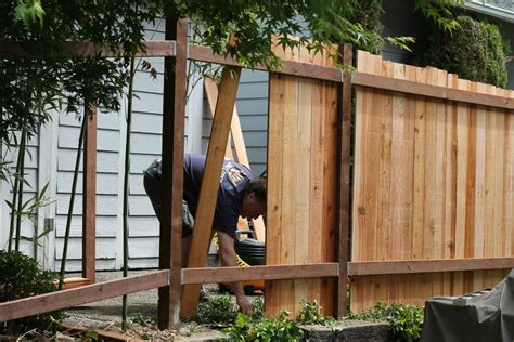 how to build a fence how to save money building a fence