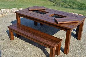 KRUSE'S WORKSHOP: Patio Party Table with Built In Beer
