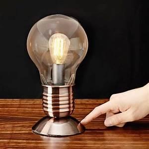 Lampe En Forme D Ampoule : commander en toute simplicit lampe ampoule lectrique edison chez eurotops ~ Teatrodelosmanantiales.com Idées de Décoration