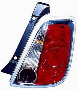 Feu Arriere Fiat 500 : feu arri re droit fiat 500 phase 1 2007 2015 contour chrom neuf rouge blanc ~ Melissatoandfro.com Idées de Décoration