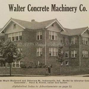 walter concrete roofing tile machinery company