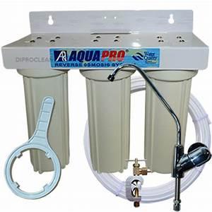 Purificateur D Eau Maison : purificateur d 39 eau 3 cartouches sous evier triple ~ Premium-room.com Idées de Décoration
