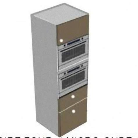 hauteur caisson cuisine colonne four micro ondes 1porte et 2 tiroirs meubles de