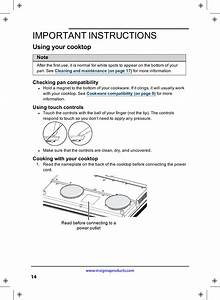 Midea Kitchen Appliances Id175 Induction Cooker User