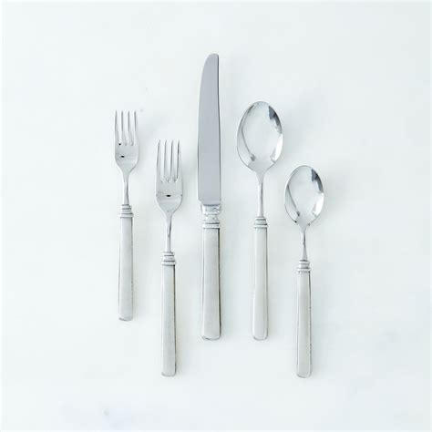 flatware pewter gabriella dinnerware piece food52 flateware entertaining swoony successful tips favorites match