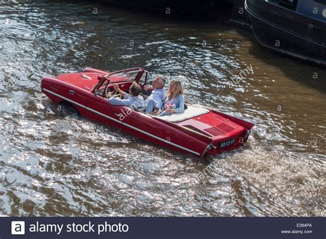 Buy A Boat Car by Vintage Hicar 770 In An Amsterdam Canal Hibious