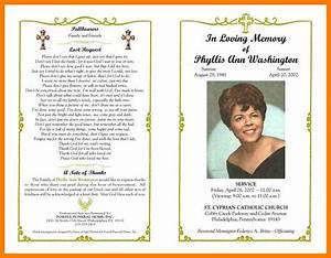 religious obituary samples good resume format With death program templates