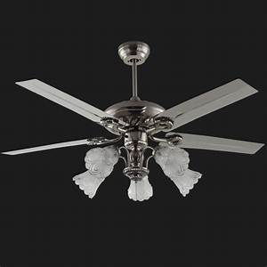 Modern ceiling fan light kit blades for dining room