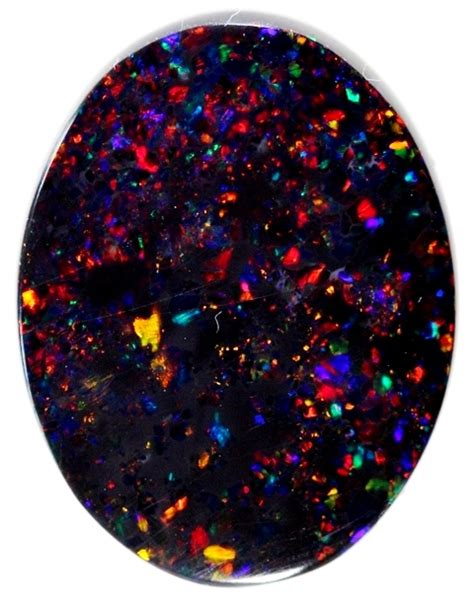 ct red multi colour pin fire solid black opal