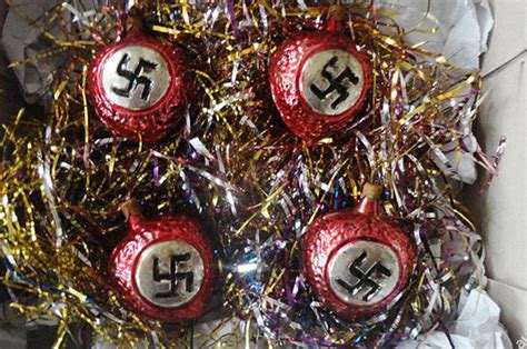 nazi christmas decorations up for auction online daily star
