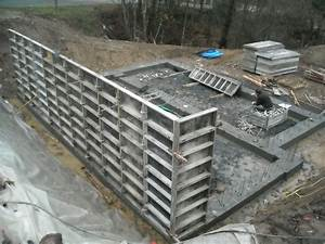 rez de jardinfondations et coffrage des nurs en beton With maison en beton banche 3 niveau 0 archive at notre maison en bois