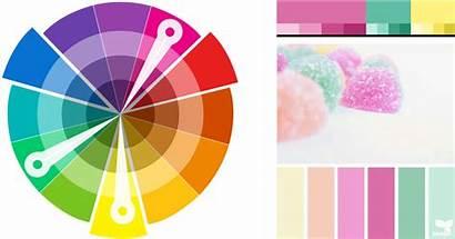 Colour Complementary Scheme Split Harmonies Contrast Palettes