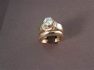 custom wedding rings for sweethearts to tie the knot With the knot wedding ring