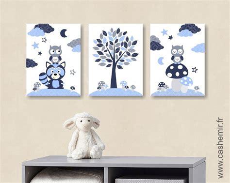 tableau chambre bébé garçon affiche pour chambre de bébé et d 39 enfant garçon bleu gris