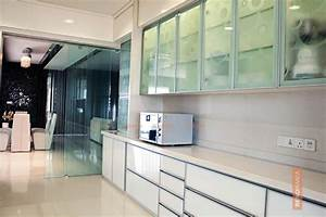 glass room partition With best brand of paint for kitchen cabinets with candles holders glass