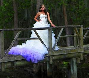 live laugh love shop wedding trend ombre With ombre wedding dress