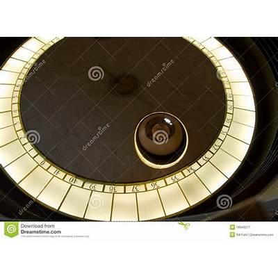 Foucault Pendulum Royalty Free Stock Photography - Image