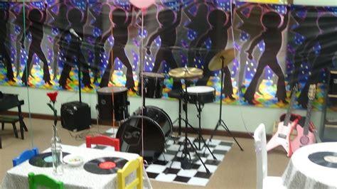 thinkcreateexplore  musical theme birthday party