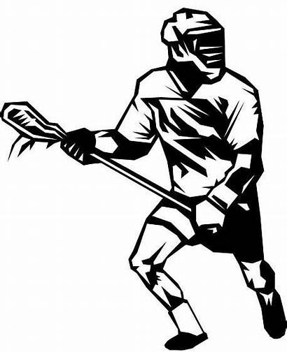 Lacrosse Clipart Stick Drawing Graphics Clip Logos