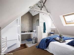 Chambre Sous Les Combles : 35 chambres sous les combles elle d coration ~ Melissatoandfro.com Idées de Décoration