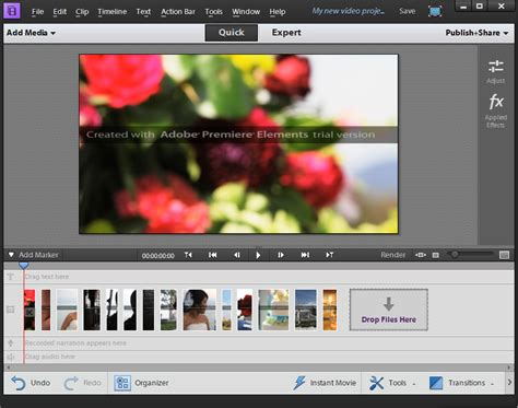 Adobe Premiere Elements 2018 free download - Software