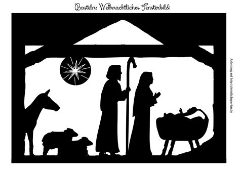 Fensterbild Zu Weihnachten Basteln