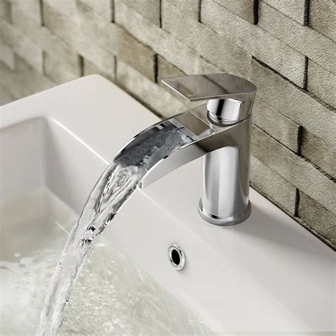 square waterfall single handle dial faucet high grade