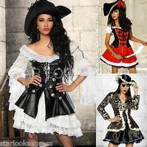 Damen Kostüm Piratin : piraten kost m damen musketier kost m piratin karneval fasching piraten kleid ebay ~ Frokenaadalensverden.com Haus und Dekorationen