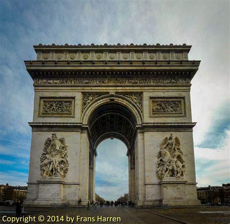 arc de triomphe de l 201 toile frans harren photography