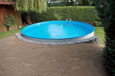 Pool In Erde Einbauen by Pool In Erde Einbauen Das Aquapool Schwimmbad Forum