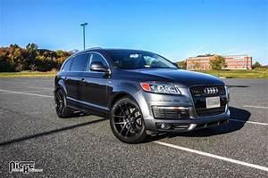 Audi Q7 Sport : 2007 audi q7 with machined black with dark tint niche sport targa wheels 20 inch targa rims ~ Medecine-chirurgie-esthetiques.com Avis de Voitures