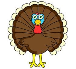 cartoon turkey step  step drawing lesson