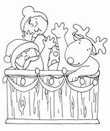 Tub Santa Dearie Colored Version Want Would Email Gmail Digi Stamps Dolls Send sketch template