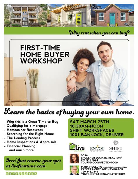 1st time home buyer free time home buyer workshop