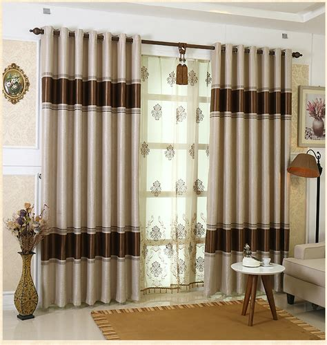 european style high grade blackout curtains living room