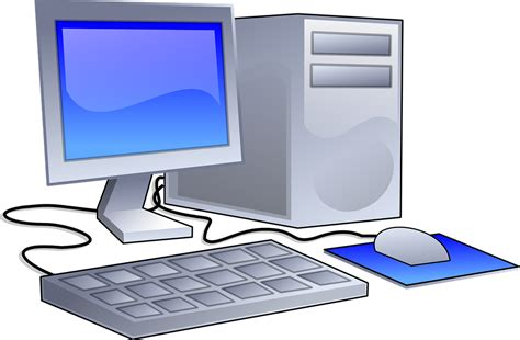 image bureau pc free vector graphic workstation computer office free