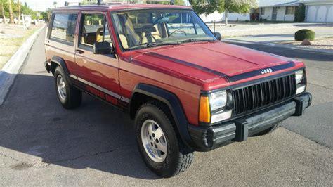 jeep cherokee chief xj 1988 jeep cherokee chief for sale