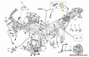 Ducati Data Acquisition Wiring Harness  848  1098 Superbike 848 1098 1098s 1098s Tricolore 1098r