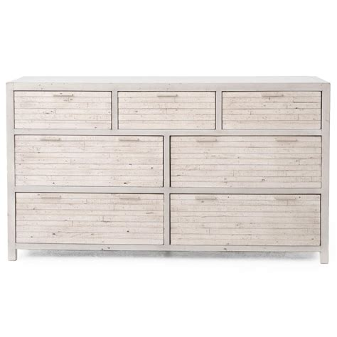 drawers for bedroom blanca coastal beach white wash reclaimed wood 7 drawer 11469 | product 11469 2