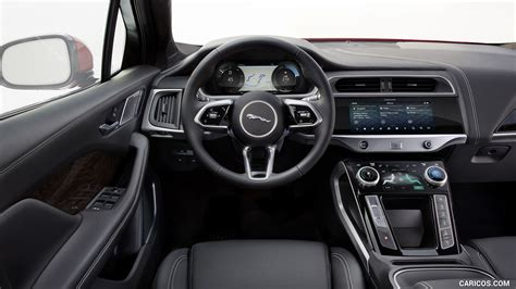 jaguar  pace  interior wallpaper car