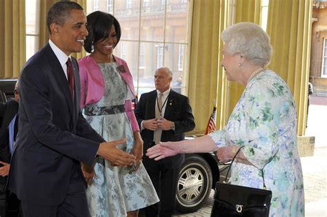 michelle obamas book   queen   laughed