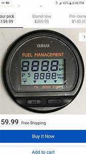 Yamaha 6y5 Round Fuel Managment Gauge Questions