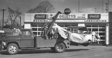 1950's Gas Repair Shop