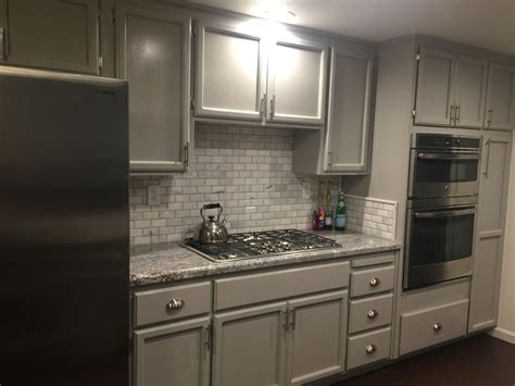 kitchen backsplash ideas for gray cabinets monte cristo granite marble backsplash tiles and grey