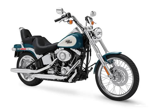 2009 Harley-davidson Fxstc Softail Custom Pictures