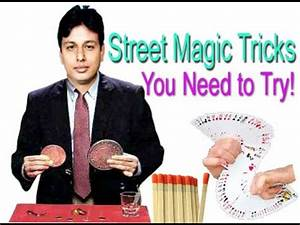 10 Street Magic Tricks You Need To Try - YouTube
