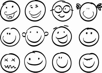 Smile Face Coloring Brash Emoji Svg Template